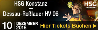 Handball 2. Bundesliga Konstanz