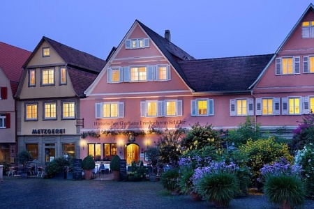 Friedrich von Schiller, Romantik Hotel: Restaurant Friedrich von Schiller, Romantik Hotel