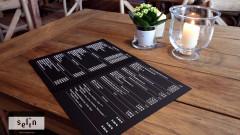 Selin Café-Restaurant - Unsere Speisekarte voll feiner türkischer Speisen zu moderaten Preisen!