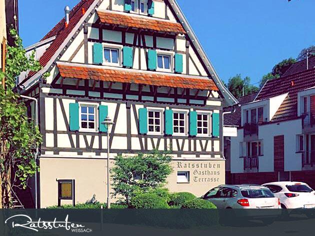 Ratsstuben Restaurant-Gasthaus Weissach: Restaurant Gasthaus Ratsstuben - gut essen in Weissach!