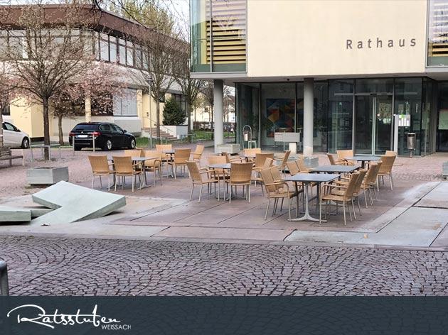 Ratsstuben Restaurant-Gasthaus Weissach: Genießen auf der Sonnenseite