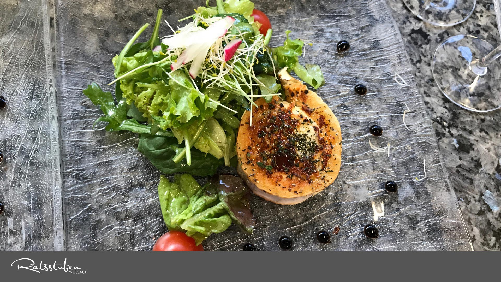 Ratsstuben Weissach: SlowFood-Küche, Glutenfrei, Laktosefrei, vegetarisch & vegan