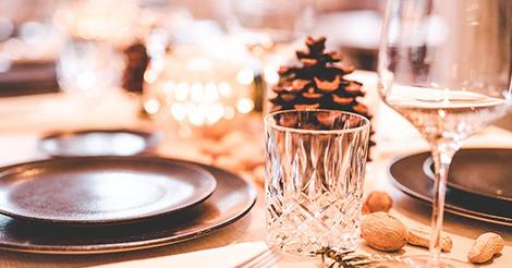Weihnachtsessen und Kaffee & Kuchen