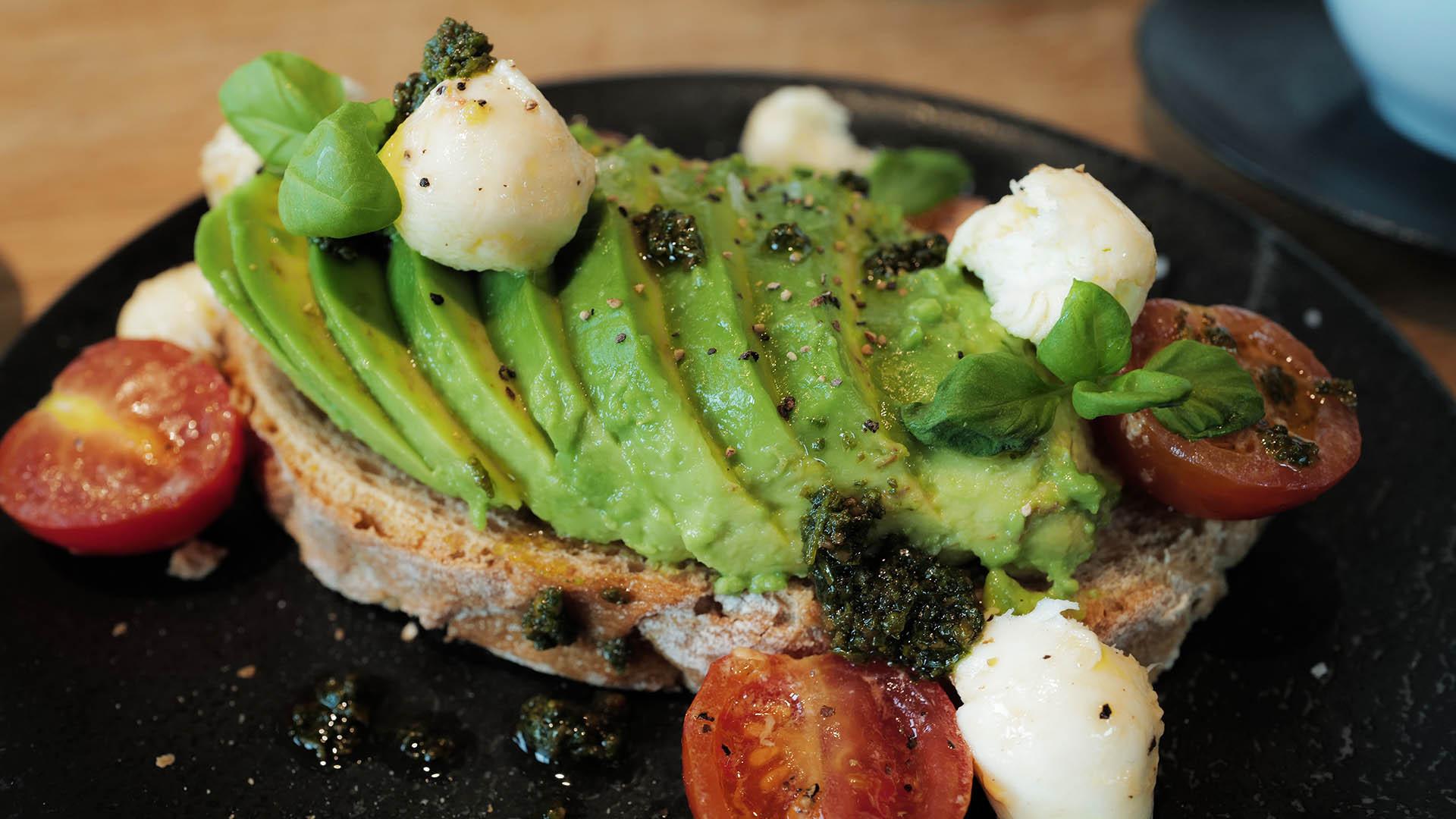 Frische vegetarische und vegane Gerichte?
