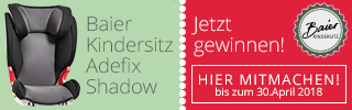 Baier Kindersitz Adefix Gewinnspiel