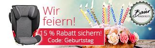Baier Kindersitz Adebar ADAC TEST