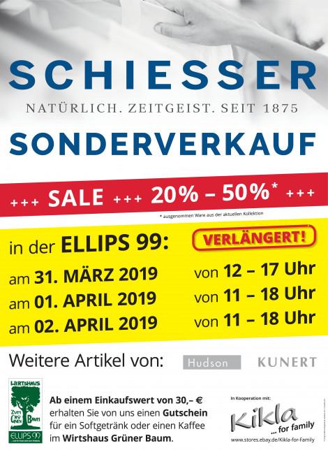 SCHIESSER Sonderverkauf in der Ellips99