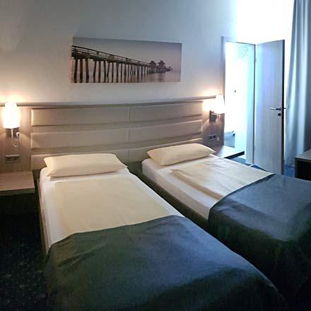 Einzel-Zimmer für Dauergäste