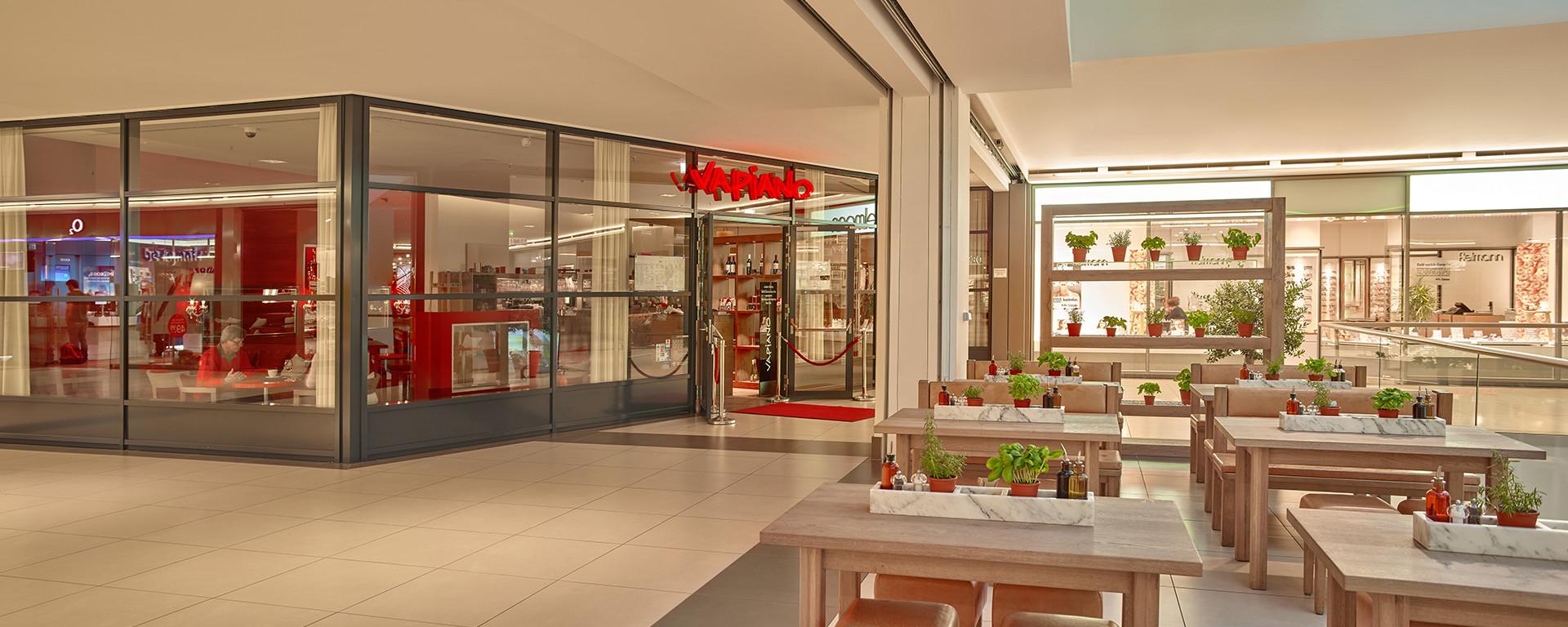 Hier ist VAPIANO Ingolstadt Westpark Shoppingcenter