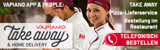 VAPIANO IN Pizza-Lieferservice Delivery