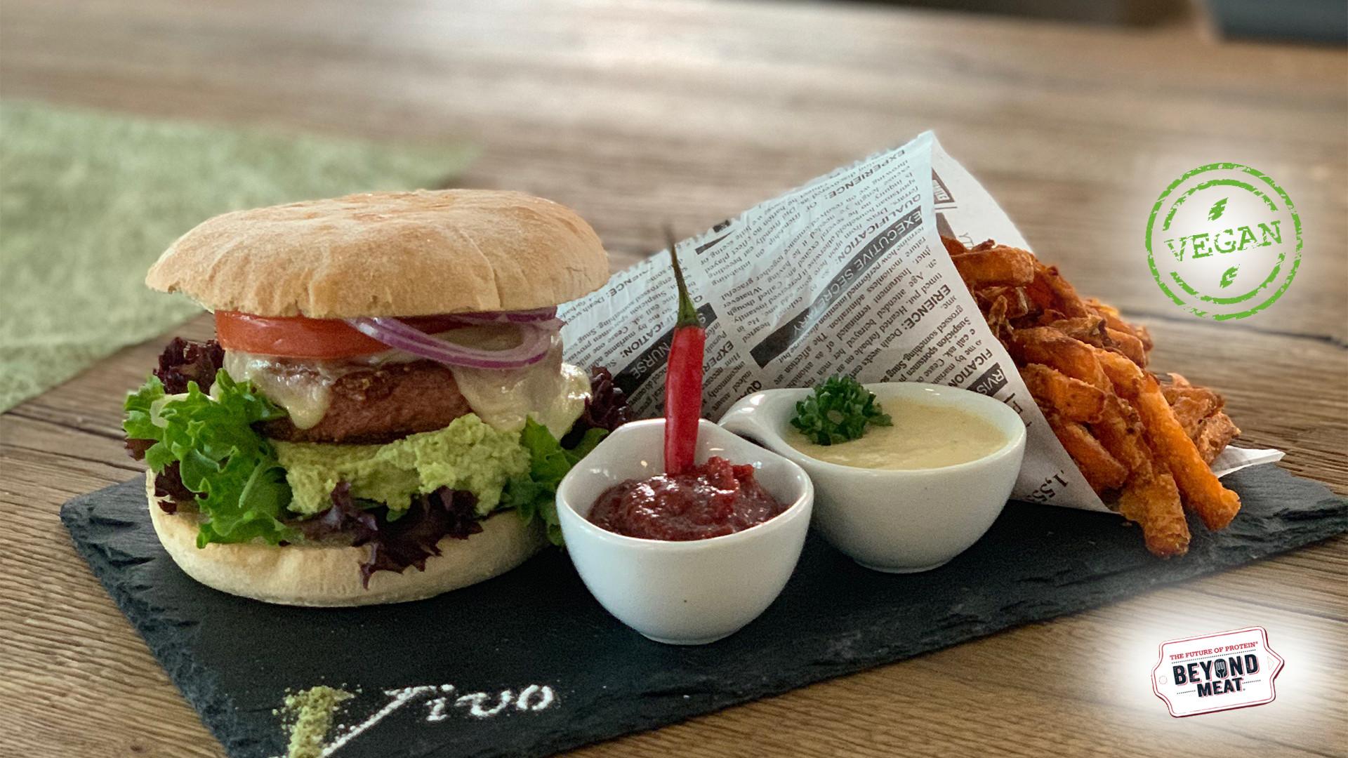 Unser veganer Burger ...exclusiv in Wangen... beyond Meat