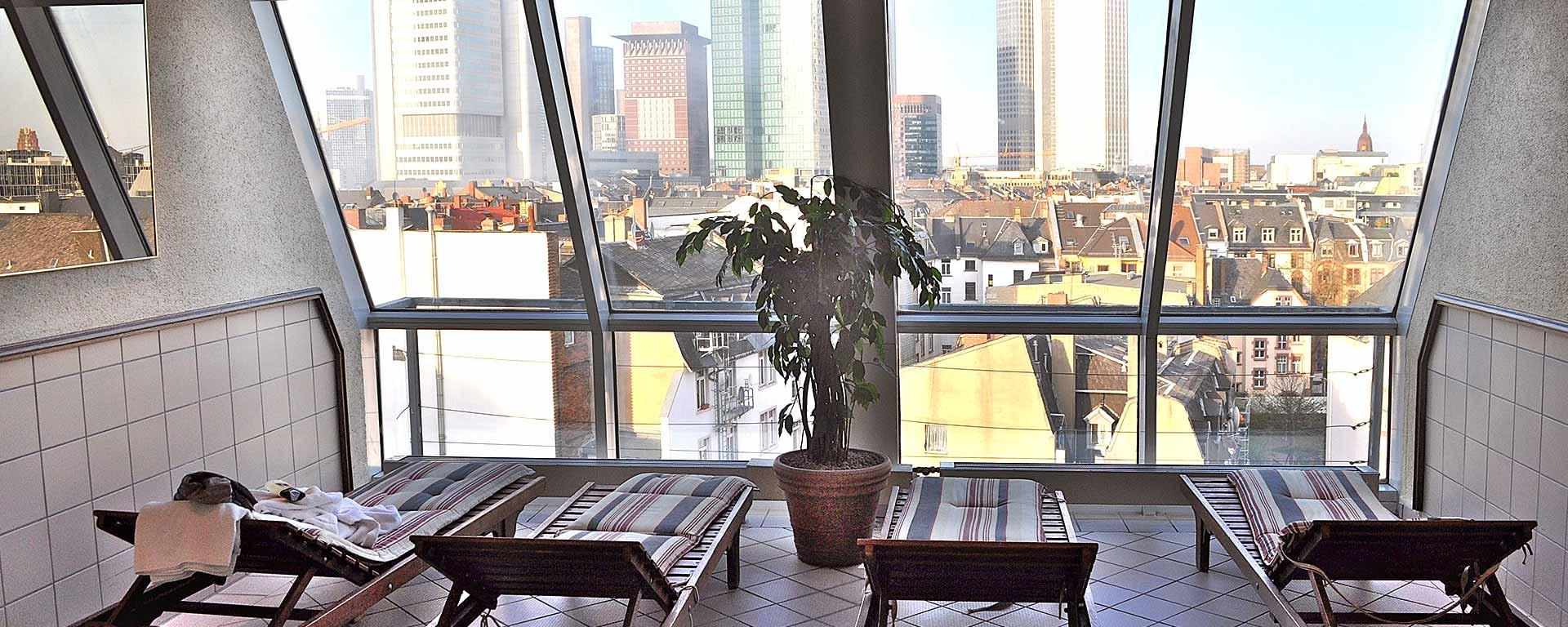 SAVOY Hotel Frankfurt Rooftop-Wellness