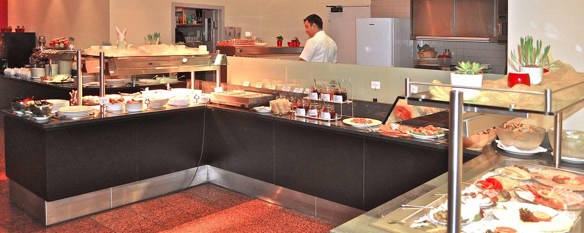 Das Frühstücks-Buffet im SAVOY Hotel Frankfurt