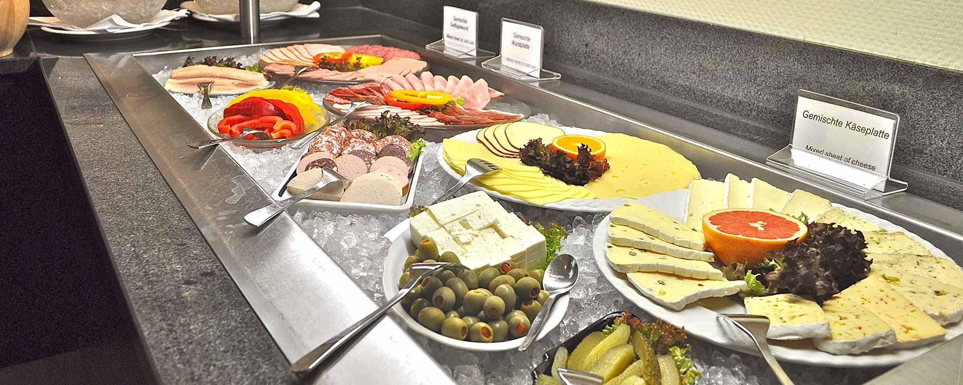 SAVOY Hotel Frankfurt Breakfast auch für unsere Ausserhaus-Gäste