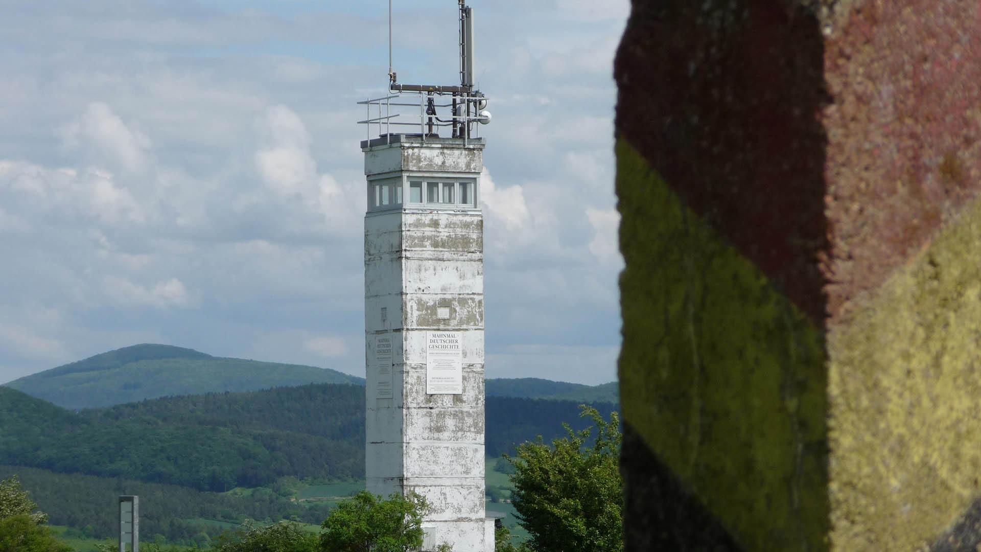 Ausflugsziele Die Gedenkstätte Point Alpha | US-Beobachtungsstützpunk in Geisa