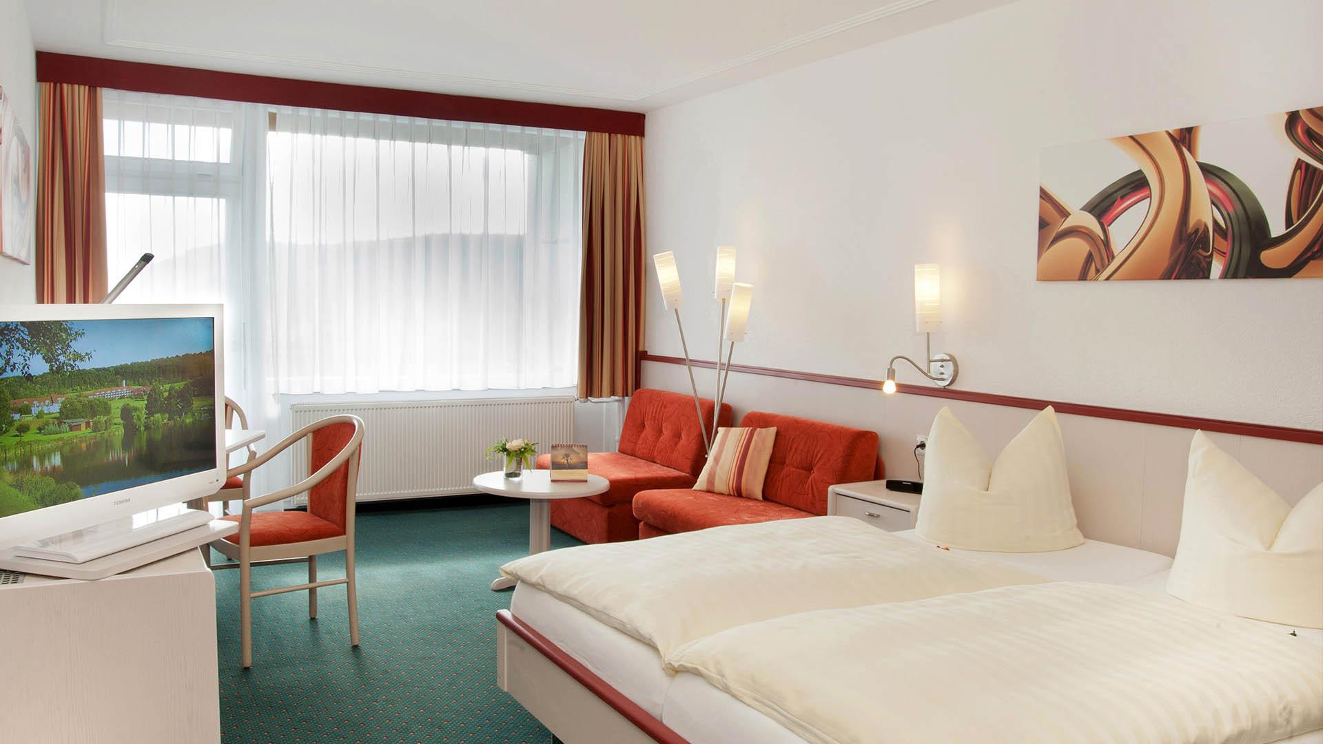 Unser 4-Sterne Tagungshotel mit komfortablen Hotelzimmer