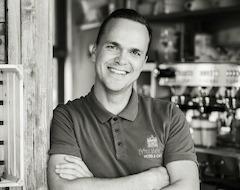 Michael Scheibe betreibt das Hotel seit dem 1. April 2018