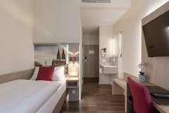 Einzelzimmer CityClass Hotel Caprice am Dom, Komfort oder Superiorkategorie wahlweise mit Balkon