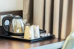 Premier Inn Germany room tea/coffee making facilities
