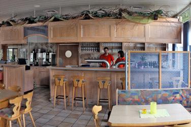 Restaurant Sportpark: Die Bar zum geselligen beisammensein mit Freunden