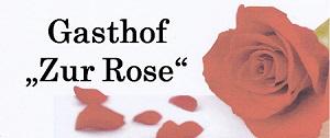 """Gasthof """"Zur Rose"""" · 73433 Aalen Hofen, Dorfstr. 19"""