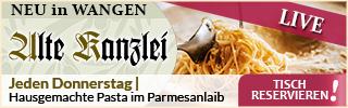 Alte Kanzlei - Pasta in Wangen