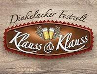 Klauss & Klauss - Dinkelacker Festzelt - Cannstatt, 70372 Stuttgart