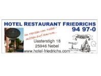 Hotel & Restaurant Friedrichs, 25946 Nebel auf Amrum