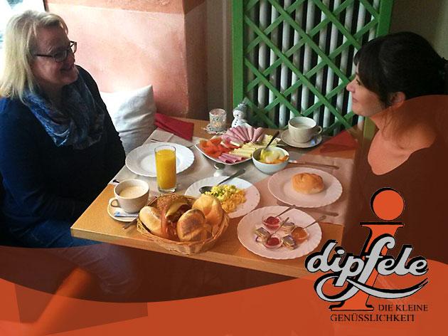 i-dipfele: Brunch und Mittagstisch