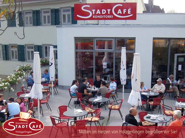 Stadtcafé Holzgerlingen: Liebe Gäste!