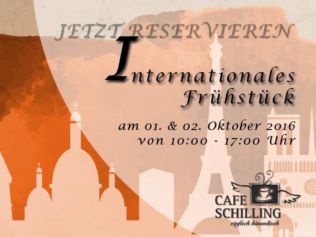 Cafe Schilling: Internationales Frühstück - Geht mit uns auf Reisen!