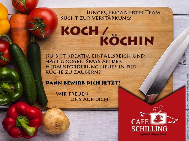Cafe Schilling: Wir suchen Verstärkung für unser Team
