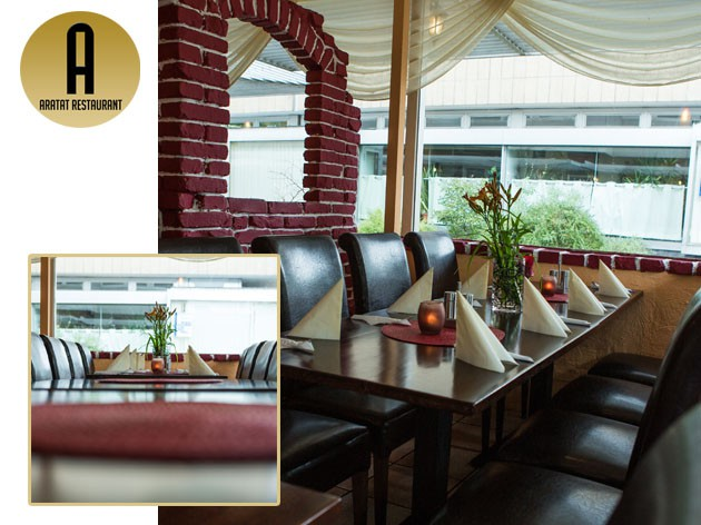 Restaurant Aratat: Willkommen im Aratat
