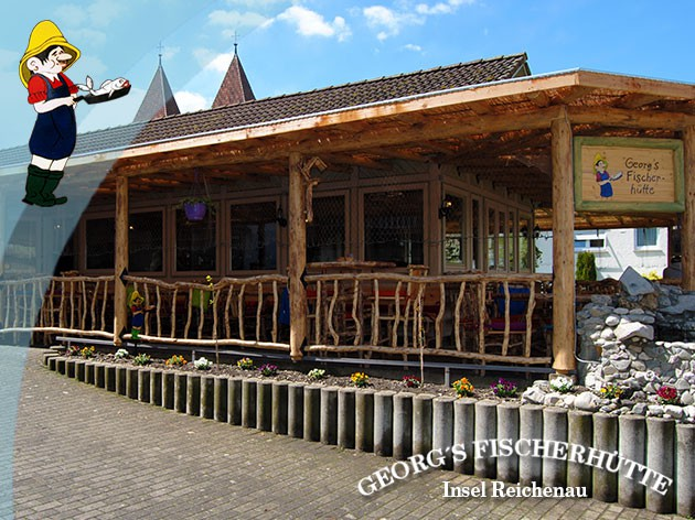 Georg's Fischerhütte Fischrestaurant: Ein Muss für alle, die gern fangfrischen Bodenseefisch essen!