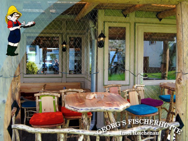 Georg's Fischerhütte Fischrestaurant: Wirklich originell und charmant!