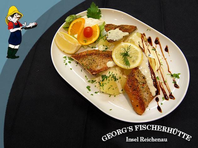 Georg's Fischerhütte Fischrestaurant: Frischer geht´s nicht!