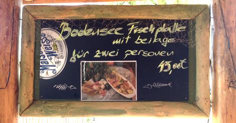 Bodensee-Fischplatte aus eigenem Fang