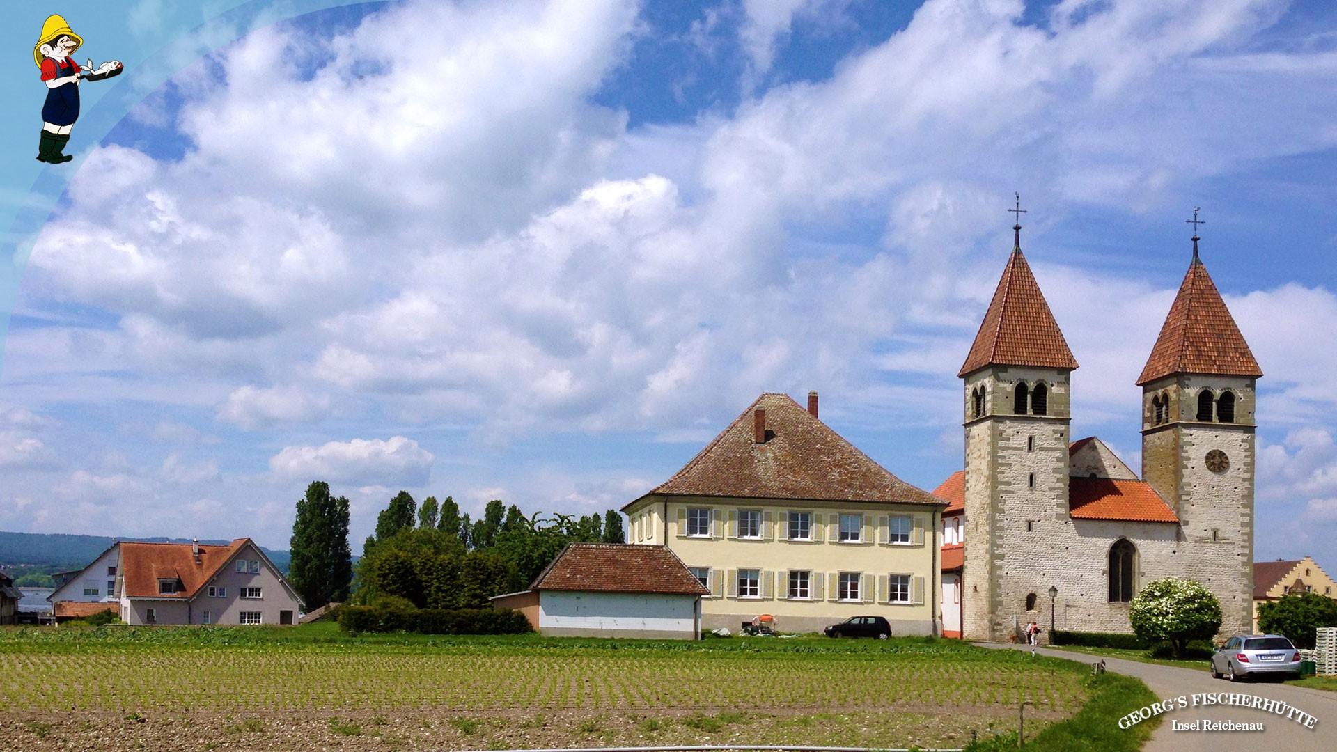 Georg's Fischerhütte, Fischrestaurant Konstanz-Reichenau - ganz in der Nähe von Sankt Peter und Paul