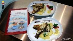 Georg's Fischerhütte: Filets vom Kretzer (Barsch, Egli-Fisch), Seibling oder Forelle